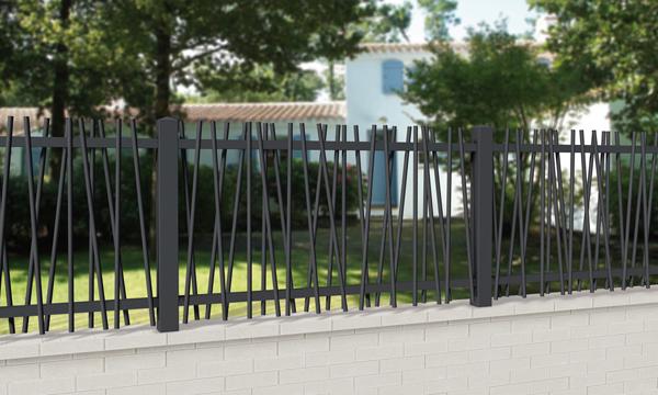 Cl tures et portails sogemen sp cialiste de la menuiserie for Cloture maison aluminium