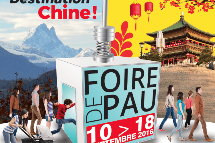 Participation à la foire de Pau 2016