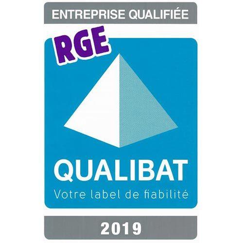 Renouvellement de l'accréditation QUALIBAT RGE 2019, label Handibat et Silverbat