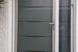 Porte entrée rénovation aluminium modèle yoga